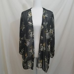 Liberty Love Floral Sexy Open Cardigan